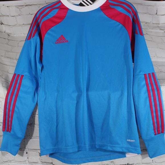 NWT Adidas Mens Goal Keeper Jersey sz YL